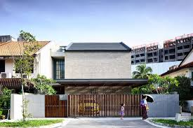 100 Court Yard Houses A Nextlevel Courtyard House In Singapore