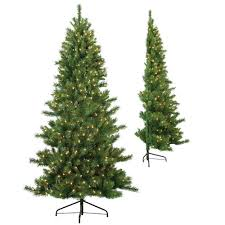 7ft Artificial Christmas Tree With Lights by 7 Ft Artificial Christmas Trees Christmas Trees The Home Depot