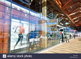 Nike Factory by Nike Factory Shop The Bishop Shopping Centre Taplow Stock Photo