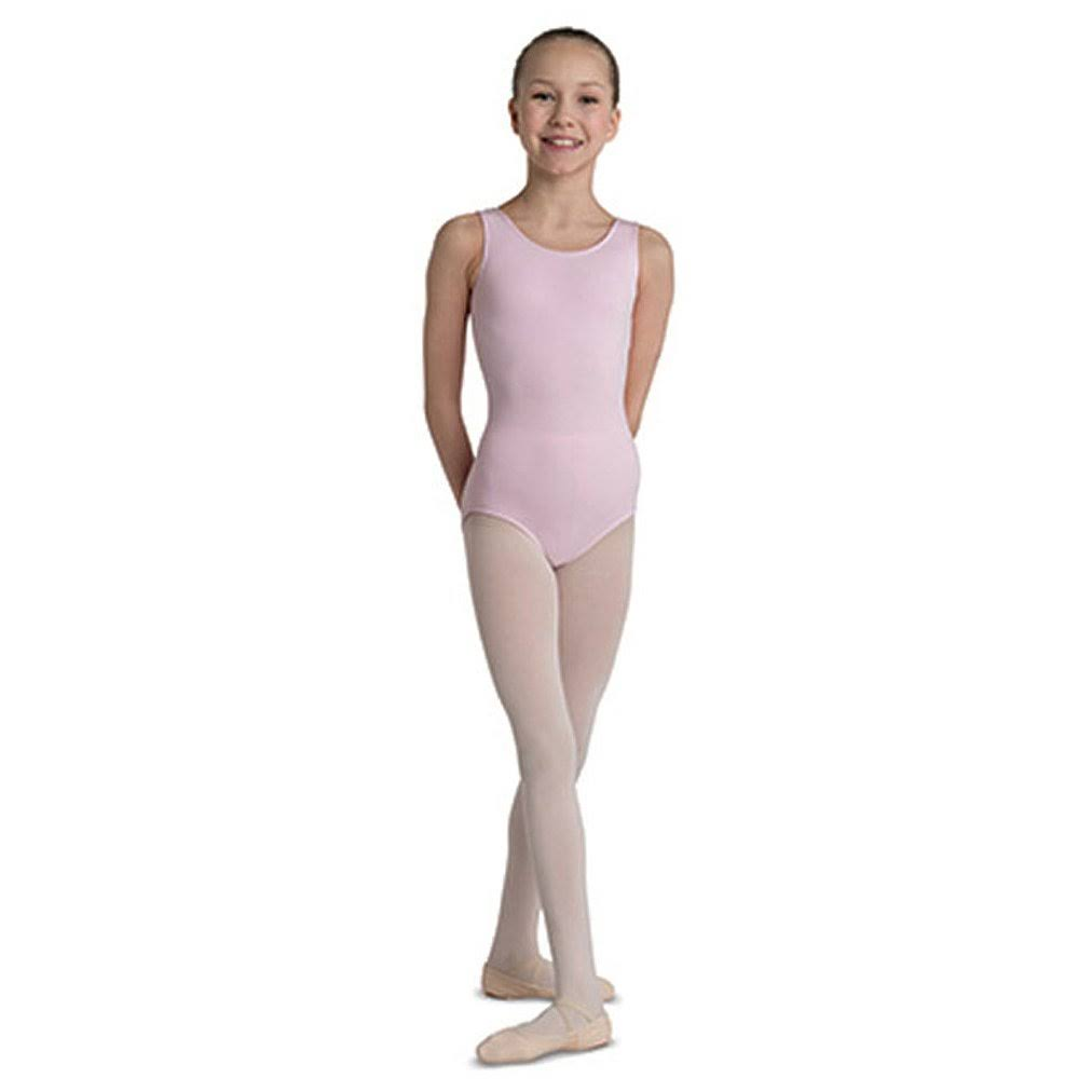 Danznmotion by Danshuz Girl's Tank Leotard 2-4 Pink