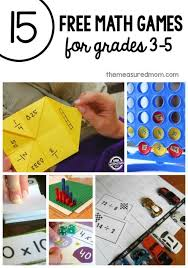 Love The Variety In These Free Math Games For Third Grade Through Fifth