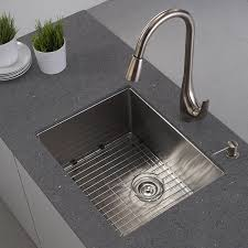 Commercial Undermount Sink by Kraus Khu101 23 23 Inch Undermount Single Bowl 16 Gauge Stainless