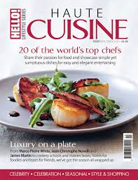 haute cuisine to the edition of haute cuisine