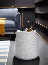 inosign beistelltisch aries im trendigen design in drei unterschiedlichen farben breite 38 cm kaufen otto