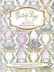 Painterly Days The Pattern Watercolor Coloring Book For Adults