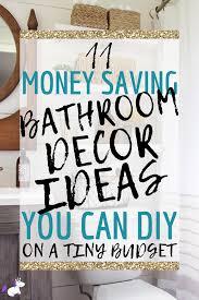 11 small bathroom decor ideas you can diy on a really small