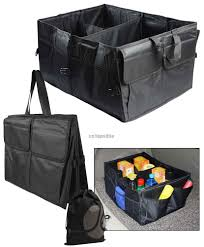 JAVOedge Black Collapsible Trunk Collapable Storage Container For Truc