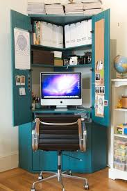 10 ideas to turn cabinet or bookcase into a mini home office