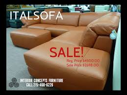 Italsofa Black Leather Sofa by Natuzzi Leather Sofas Sectionals By Interior Concepts Furniture