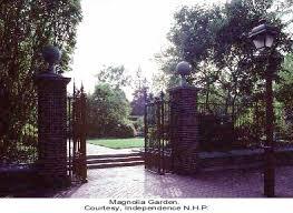 File Independence National Historical Park Magnolia Garden