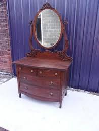 Tiger Oak Serpentine Dresser by Antique Beautiful Serpentine Tiger Oak Princess Dresser Vanity