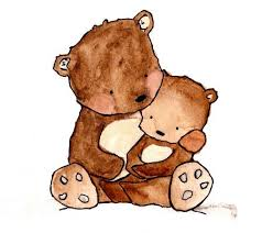 Pictures Mom And Baby Bear Clipart