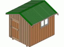 4x6 Outdoor Storage Shed by 108 Diy Shed Plans With Detailed Step By Step Tutorials Free