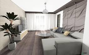 wohnzimmer wandgestaltung beige braun 3dpanels