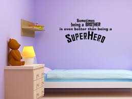 Superhero Wall Decor Stickers by Decoration Design Brick Wall Plus Wall Decor For Spiderman