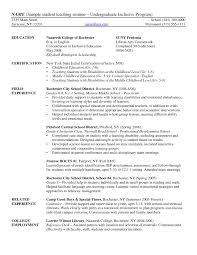 Teaching Resume Example Simple See Teacher Resumes New Template Student First Job Education Word Description Lecturer Format Grad Academic Art Examples Pdf