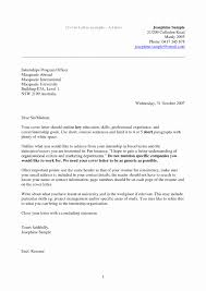 Easy Cover Letter Luxury Customer Services Resume Objective Write My