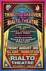 100 Truck Masters Az The Rialto Theatre Tribute Takeover Tickets The Rialto Theatre