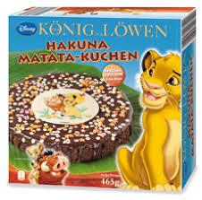 könig der löwen hakuna matata kuchen 465 grams hack ag