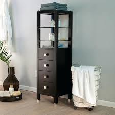 Narrow Bath Floor Cabinet by Pleasant Floor Cabinet For Bathroom U2013 Elpro Me