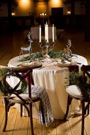 Rustic Winter Wedding Decor Inspiration