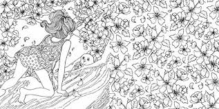 Time Garden Coloring Book A Magical Journey And Adult