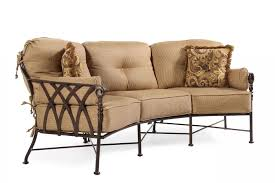 Mathis Brothers Patio Furniture by Castelle Veranda Crescent Sofa Mathis Brothers Furniture