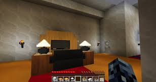 Architectural Ranch House use s furniture mod Minecraft Project