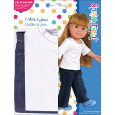 18 Inch Doll Outfit TShirt Jeans Walmartcom