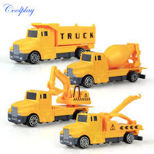 Coolplay 4pcs Mini Metal Kids Construction Vehicle Alloy Diecast Car ... Classic Modern Rideon Toys Pedal Cars Planes 3d Assembly Metal Truck Vehicles Model Kits Toy Car Building Puzzles Best Choice Products Ride On Fire Truck Speedster Kids Vintage Tonka Super Tanker Red Metal Cab Yellow Plastic Trailer Kids Shop For In Australia Little Earth Nest Amazoncom Tonka Diecast Bodies Big Rig Long Haul Semitruck Pressed Steel Roder Dump Old Is The New Coolplay 4pcs Mini Cstruction Vehicle Alloy 140 Simulation Hummer H2 Su7 Models Trucks For With Ladder Of Many Large Sheriff Detectives Red Story Set 4 Push And Go Friction Powered