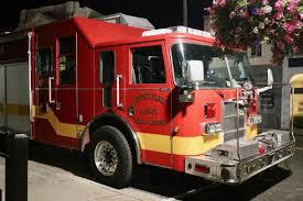 100 Rescue Truck Truck Back In Service In Pittsylvania County Pittsylvania