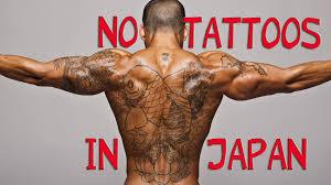 No TATTOOS IN JAPAN