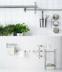 ikea grundtal küche wand aufbewahrung range badezimmer zubehör in einem