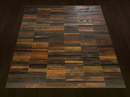 Flooring Rugs Made From Old Leather Belts By TING 7