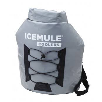 IceMule Pro Backpack Cooler - Grey, Large, 20L