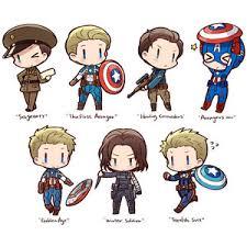 Fanart Pixiv Steve Rogers Bucky Barnes Winter Soldier Captain America