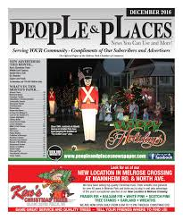 Nyc 311 Christmas Tree Disposal by December 2016 People U0026 Places Newspaper By Jennifer Creative Issuu