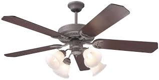 Harbor Breeze 52 Inch Bellhaven Ceiling Fan by Craftmade Light Kit Iron Blog