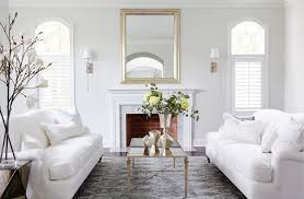 Formal Living Room Furniture Dallas by Dueling White Roll Arm Sofa White Formal Living Room Designed By