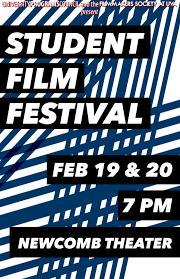 Student Film Festival Poster 2 1 Copy