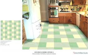 Retro Floor Tiles Vinyl Vintage Style Kitchen Flooring Ideas Tile