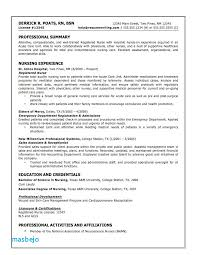 Cna Resumes Examples Resume Example Certified Nursing Assistant
