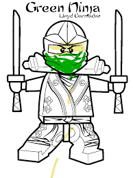 Lloyd Garmadon Ninjago Green Ninja Coloring Page By 10 Years Old Willie Bryant