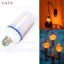 e27 2835 led light effect light bulbs 7w creative
