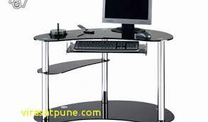 bureau ordinateur en verre résultat supérieur bureau ordinateur verre noir luxe bureau