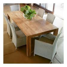 crate and barrel pacifica dining table dining room pinterest