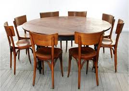 Image Of DIY Rustic Round Kitchen Table