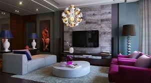 Grey And Purple Living Room Ideas by Purple Gray Black Living Room House Design Ideas