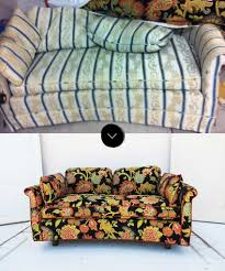 Leaf Studio Day Sofa Slipcover by 5 Ways To Breathe New Life Into Vintage Pieces U2013 Design Sponge