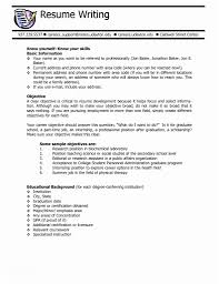 Hair Stylist Cover Letter Resume Objective